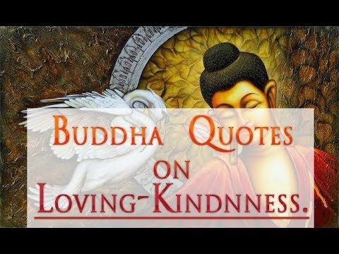 Loving Kindness Quotes From Buddha Youtube