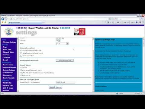 Sky Router Settings >> How Change Sky Broadband Netgear Router Settings Hd
