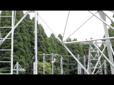 ラジオNIKKEI長柄送信所① Radio NIKKEI Nagara transmitting station. part 1