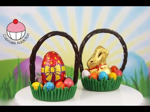 Chocolate Easter Baskets Make Simple No Bake Easter