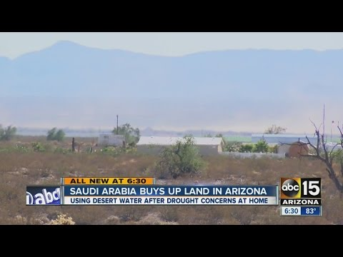 Saudi Arabia buys up land in Arizona