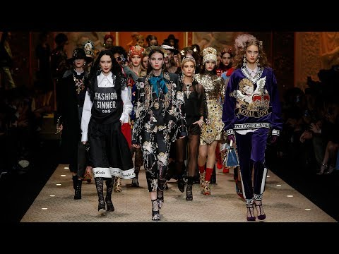 Dolce&Gabbana Fall Winter 2018/19 Women's Fashion Show