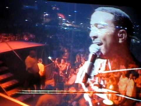 John Legend Performing in the BVI
