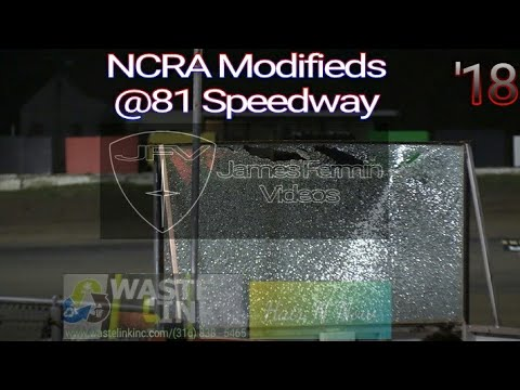 NCRA Modifieds #60, B Main & Feature, 81 Speedway, 10/20/18