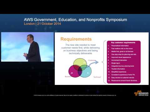 Transport for London (TfL) | AWS Government, Education, and Nonprofits UK Symposium 2014