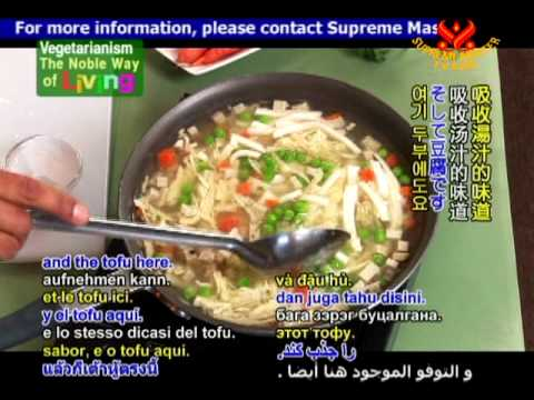 Cooking with Loving Hut Milpitas International House Special Soup