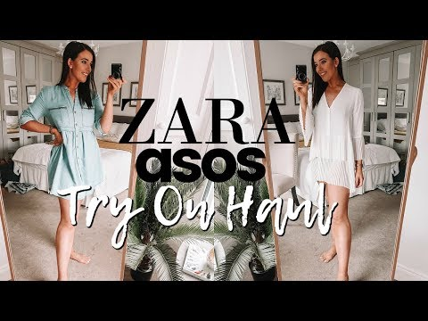 ZARA & ASOS TRY ON HAUL SUMMER 2018 | Grace Denny Vlogs