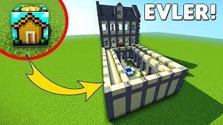 BLOK'TAN ÇIKAN EVLER - Minecraft