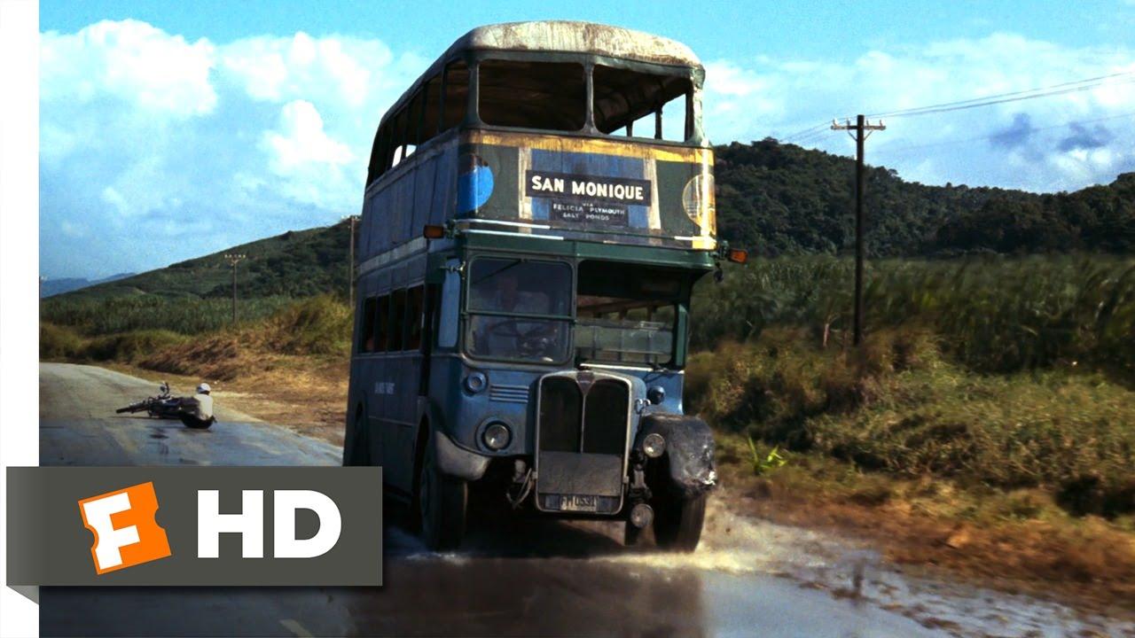 Live and Let Die 310 Movie CLIP  DoubleDecker Bus