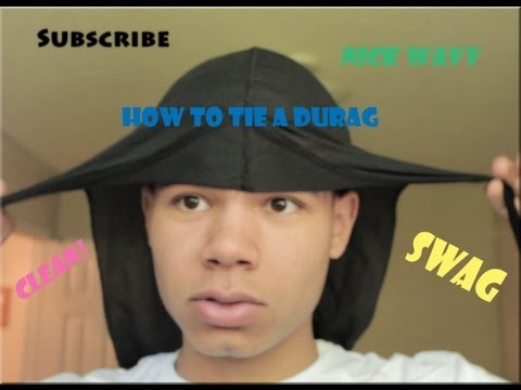 How To Tie A Wavebuilder Durag