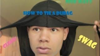 How To Tie A Wavy Merch Durag