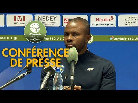 Conférence de presse FC Sochaux-Montbéliard - Red Star  FC ( 1-2 )  / 2018-19