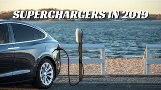 Tesla's 2019 Supercharger NETWORK UPGRADES