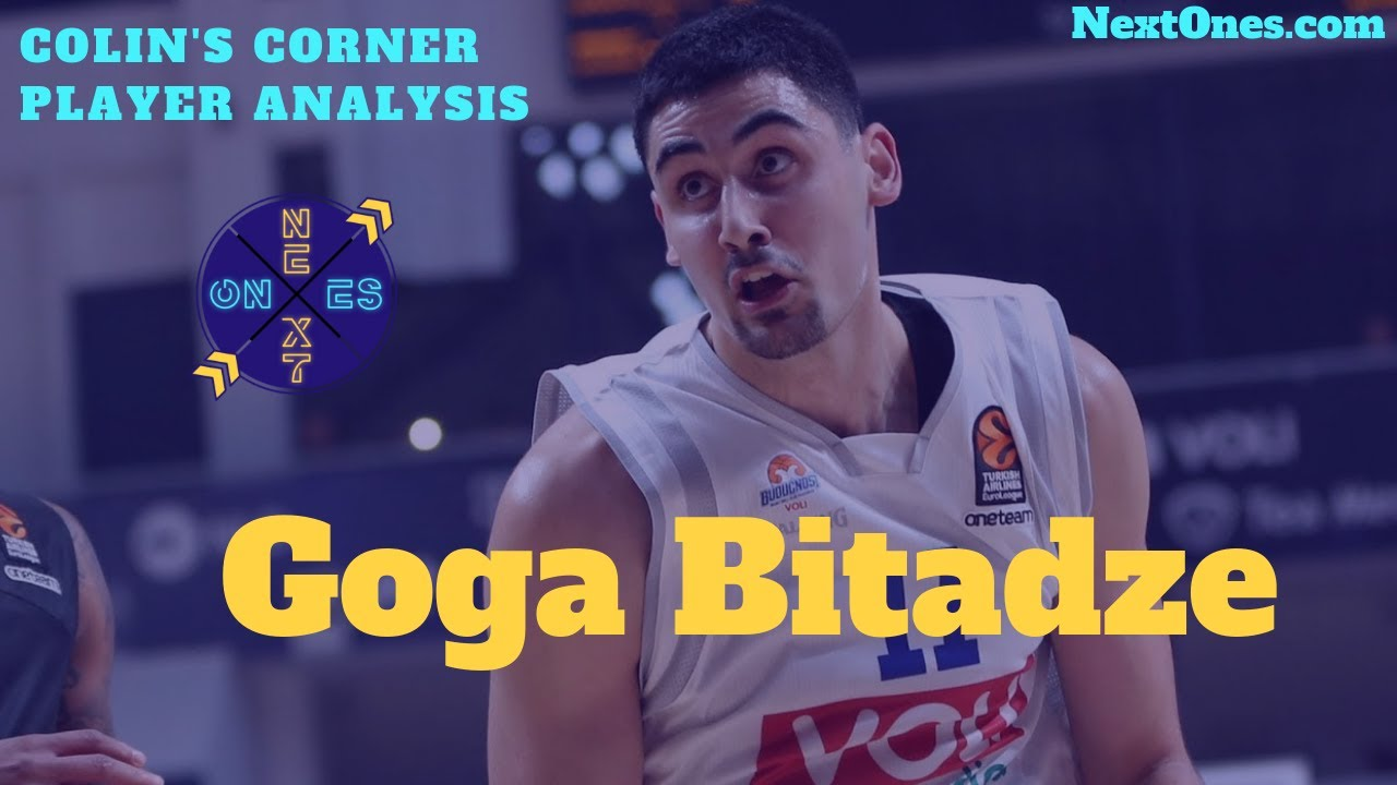 This photo just made Georgian center Goga Bitadze everyone's favorite NBA Draft prospect