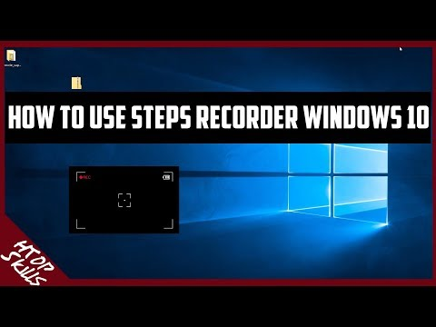 Free screen recorder in windows 10 to record all steps / How to use steps recorder /screen capture