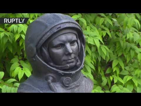 В Норвегии открыли памятник Юрию Гагарину