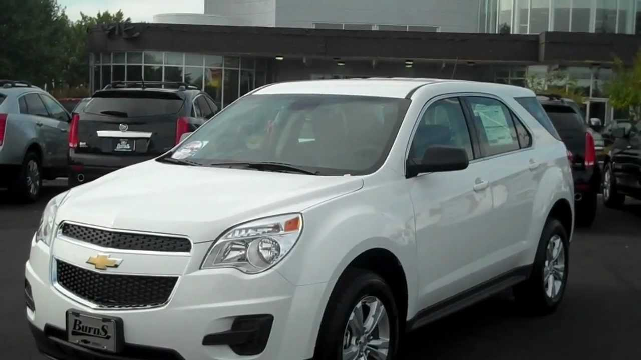 2013 Chevrolet Equinox Ls White Burns Chevrolet Rock