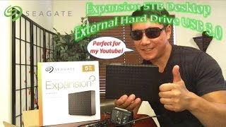 Seagate Expansion 5TB Desktop External Hard Drive USB 3.0