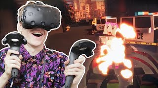 THE ULTIMATE ZOMBIE APOCALYPSE BASE BUILDER! | Out of Ammo VR: Death Drive (HTC Vive Gameplay) Ep.3