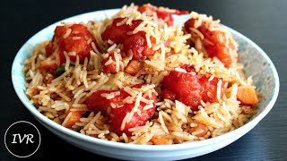 """Gobi Fried Rice/Cauliflower Florets Fried Rice"" | Street Food - Indian Vegetarian Recipe"