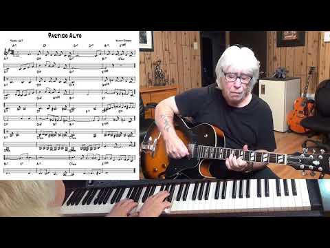 Partido Alto - Jazz guitar & piano cover ( Kenny Durham )