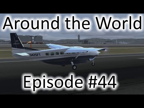 FSX | Around the World Ep. #44 - Seoul, South Korea to Osaka, Japan