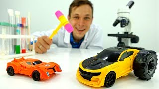 Игры С Доктор Ой - Трансформеры Игрушки: Новые Колеса Бамблби