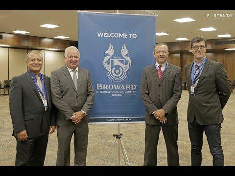 Cerimônia oficial de lançamento da Broward University Brazil - Belo Horizonte