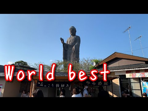 The biggest Buddha in the world in Japan / Guinness / Tourist attractions / Recommend / Olympic