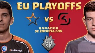 CRL Europe: PLAYOFFS