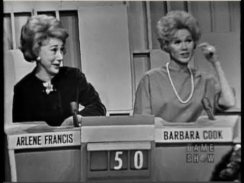 MATCH GAME - Bennett Cerf, Henry Morgan, Betty White, Peggy Cass, Joan Fontaine (Jan 25, 1964)