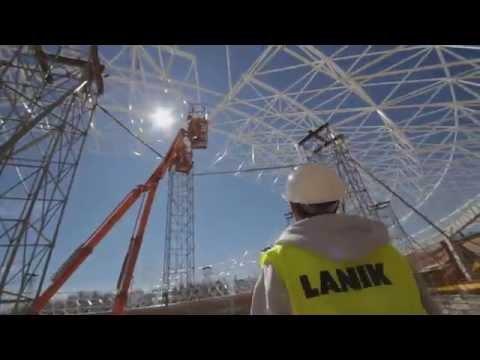 Coliseum Burgos -Space Frame Arena- LANIK