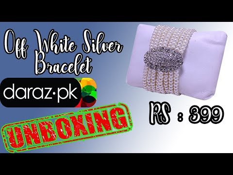 Off White Silver Bracelet For Girls/Womens ( Unboxing & Review)