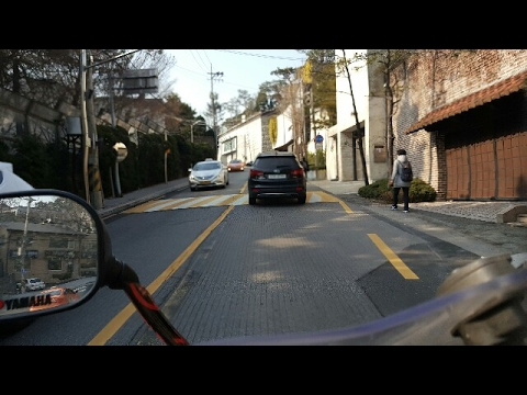 Ride with me! Korean Cars, Live Motorcylce ride in Crazy Traffic In Seoul South Korea!