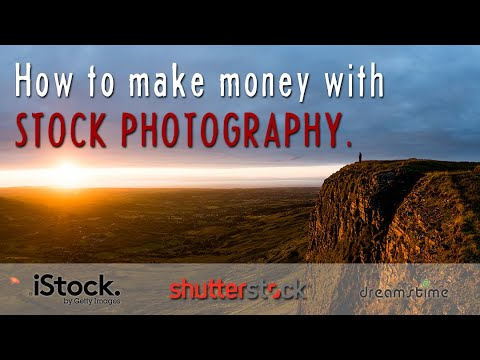 How to make money with stock photography.  The Basics.