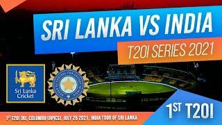 🔴 LIVE | 1st T20I - India tour of Sri Lanka 2021