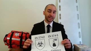 Guanti in Lattice sono DPI cat 3 (per soccorso e ospedali)