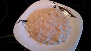 #Геркулесовая каша в мультиварке (очень вкусная)  #Oat meal in multivarka