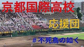 20190728 京都国際高校応援団 (立命館宇治戦、決勝戦)