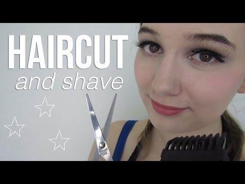 ASMR Haircut & Shave & Wash | Electric Razor | Softly Spoken