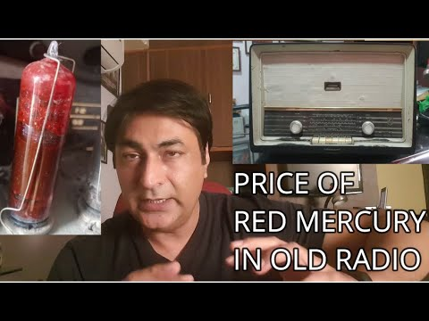 Price of RED MERCURY / RED VALVE in OLD Radio | Telephone | Television | Vlog by Rahul Sood