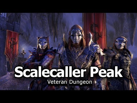 Scalecaller Peak Dungeon Vet Run - Dragon Bones DLC PTS