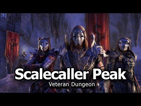 Scalecaller Peak Dungeon Vet Run - Dragon Bones DLC PTS