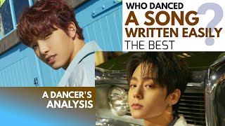 Who danced ONEUS A SONG WRITTEN EASILY the best? A Dancer's Analysis