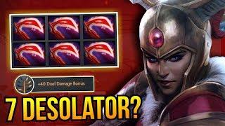 7 DESOLATOR? - WTF Legion Commander 7 Desolator  7.10 Dota 2   Upside Down 64