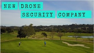 ** VISITING A NEW DRONE SECURITY COMPANY ** VLOG 020