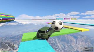 CARRERA IMPOSIBLE RETO 59 CARRERA DANIREPKOUR 59 Grand Theft Auto V PS4 GAMEPLAY