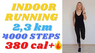 🔥35 min Indoor Running Workout🔥// Run in Place Workout // At Home Jogging Cardio Workout