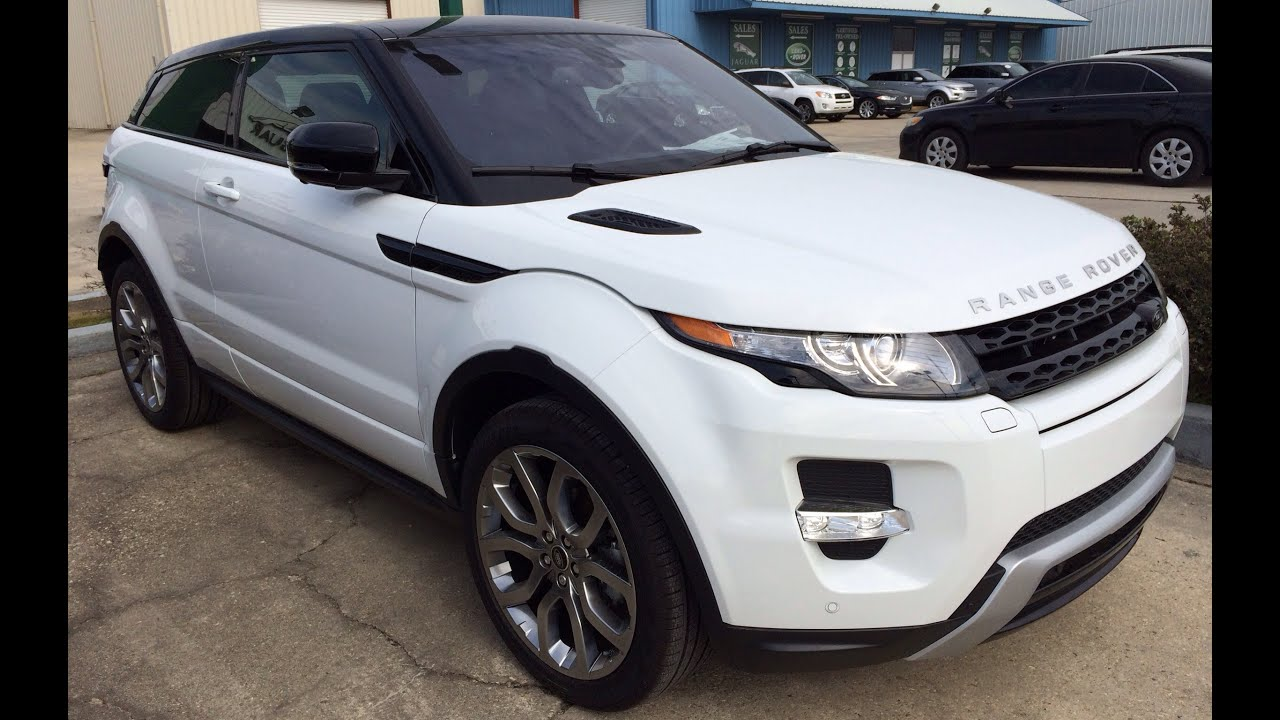 2014 range rover evoque coupe exterior interior walk around youtube. Black Bedroom Furniture Sets. Home Design Ideas