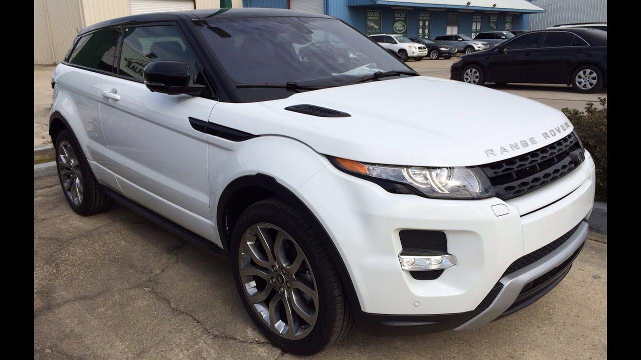2014 Range Rover Evoque Coupe Exterior & Interior Walk Around